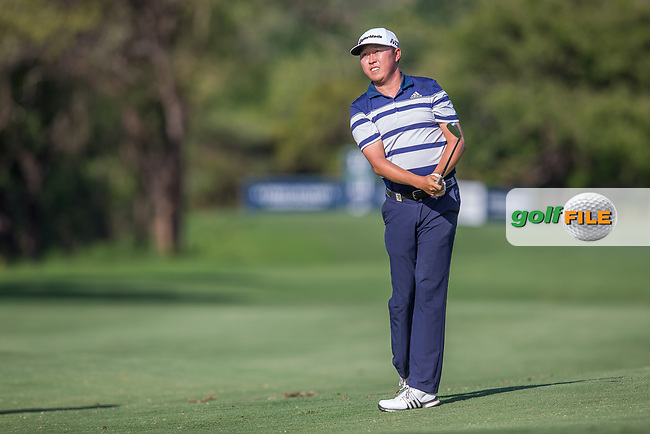 David Lipsky (USA) during the 3rd round of the Alfred Dunhill Championship, Leopard Creek Golf Club, Malelane, South Africa. 15/12/2018<br /> Picture: Golffile | Tyrone Winfield<br /> <br /> <br /> All photo usage must carry mandatory copyright credit (&copy; Golffile | Tyrone Winfield)