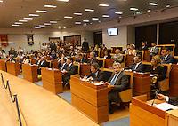 prima seduta del Consiglio Regionale della Campania , Napoli 09 Luglio 2005