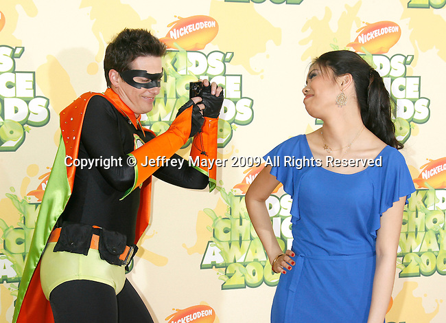 WESTWOOD, CA. - March 28: Actress Ashley Argota arrives at Nickelodeon's 2009 Kids' Choice Awards at UCLA's Pauley Pavilion on March 28, 2009 in Westwood, California.