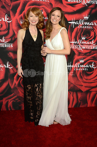 PASADENA. CA - JANUARY 14: Alicia Witt, Rachel Boston at the Hallmark Winter 2017 TCA Event at Tournament House in Pasadena, California on January 14, 2017. Credit: David Edwards/MediaPunch