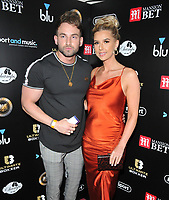 David Lundy and guest at the Ultimate Boxxer III professional boxing tournament, indigO2 at The O2, Millennium Way, Greenwich, London, England, UK, on Friday 10th May 2019.<br /> CAP/CAN<br /> &copy;CAN/Capital Pictures