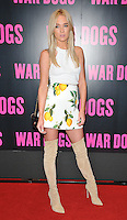 Nicola Hughes at the &quot;War Dogs&quot; gala film screening, Picturehouse Central, Corner of Shaftesbury Avenue &amp; Great Windmill Street, London, England, UK, on Thursday 11 August 2016.<br /> <br /> &copy;CAN/Capital Pictures / MediaPunch  ** USA and South America ONLY**