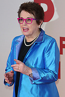 Billie Jean King at the 61st BFI London Film Festival - Battle of the Sexes - American Express Gala at Odeon Leicester Square, London on October 7th 2017<br /> CAP/ROS<br /> &copy; Steve Ross/Capital Pictures