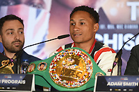 Regis Prograis during a Press Conference at the Park Plaza on 9th September 2019