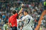 Real Madrid's Cristiano Ronaldo during the match of UEFA Champions League group stage between Real Madrid and Legia de Varsovia at Santiago Bernabeu Stadium in Madrid, Spain. October 18, 2016. (ALTERPHOTOS/Rodrigo Jimenez)