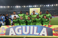 BOGOTA -COLOMBIA, 28-02-2017. Team of La Equidad.Action game between Millonarios and Equidad during match  for the date 6 of the Aguila League I 2017 played at Nemesio Camacho El Campin stadium . Photo:VizzorImage / Felipe Caicedo  / Staff