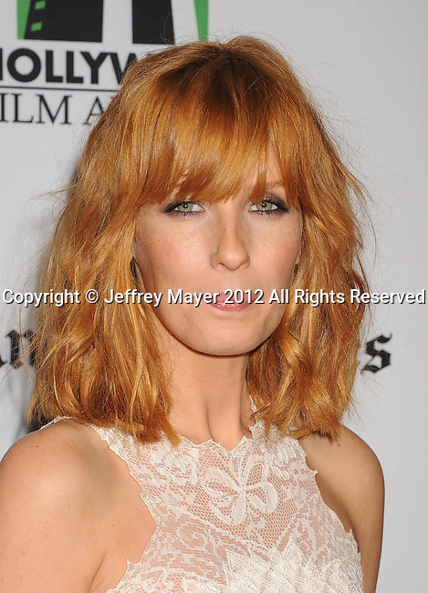 BEVERLY HILLS, CA - OCTOBER 22: Kelly Reilly arrives at the 16th Annual Hollywood Film Awards Gala presented by The Los Angeles Times held at The Beverly Hilton Hotel on October 22, 2012 in Beverly Hills, California.