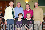 SOCIAL: Enjoying great fun at the Na Gaeil GLC annual social and senior awards night at the Na Gaeil clubhouse Tralee on Saturday seated l-r: Mary Manusell and Nora Clifford. Back l-r: Sean O'Connor, Johnny Manusell, Michael Golden and Joe Clifford.