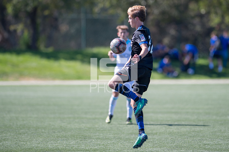 Earthquakes Boys Academy U17 fall 0-3 versus Seattle Sounders; Evergreen Valley College, September 23, 2018.