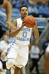 28 December 2015: North Carolina's Nate Britt. The University of North Carolina Tar Heels hosted the UNC Greensboro Spartans at the Dean E. Smith Center in Chapel Hill, North Carolina in a 2015-16 NCAA Division I Men's Basketball game. UNC won the game 96-63.