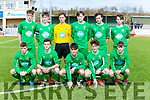 Kerry at the SSE Airtricity U17 League 2017 Kerry V Waterford Fc at Mounthawk Park Tralee on Sunday. Pictured 1 Robert Osborne, 2 James Rusk, 3 John Ward, 4 Sean Carmody, 5 Ronan Cahill, 6 Eoin Clifford, 7 Martin Coughlan, 8 John Hayes, 9 Dillon Robinson, 10 Michael O'Gara, 11 Adria Miravet