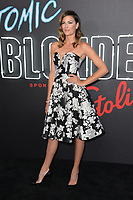 Monique Ganderton at the premiere for &quot;Atomic Blonde&quot; at The Theatre at Ace Hotel, Los Angeles, USA 24 July  2017<br /> Picture: Paul Smith/Featureflash/SilverHub 0208 004 5359 sales@silverhubmedia.com