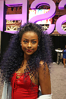 NEW ORLEANS, LA - JULY 3, 2016 Justine Skye backstage at the Convention Center for the Essence Festival, July 3, 2016 in New Orleans, Louisiana. Photo Credit: Walik Goshorn / Media Punch