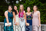 l-r Emer Courtney, Ciara O'Shea, Ciara Courtney,Lynn Brosnan and Rebecca O'Connor enjoying the St Bridget's Debs on Monday night at the Earl Of Desmond Hotel
