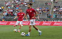 East Hartford, CT - Saturday July 01, 2017: Graham Zusi during an international friendly game between the men's national teams of the United States (USA) and Ghana (GHA) at Pratt & Whitney Stadium.