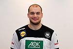 03.01.2019,  GER; Handball, IHF Handball-WM 2019 in Deutschland und Daenemark, Nationalmannschaft Deutschland. Fototermin, im Bild Paul Drux (GER #95) Foto © nordphoto / Witke