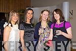 Carmel Lenihan, Therese Counihan, Oonagh Moynihan and Sarah Lenihan Killarney enjoying the Christmas in Killarney fashion show in the Malton Hotel on Friday night