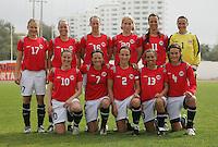 MAR 15, 2006: Albufeira, Portugal:  Norway