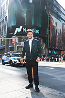 NEW YORK, NY July 13, 2017  Andy Serkis  visit Nasdaq to promote  new movie War for the Planet of the Apes in New York July 13, 2017. Credit:RW/MediaPunch