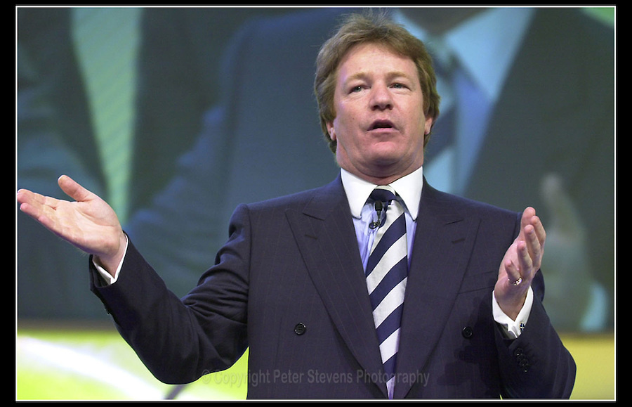 Jim Davidson OBE - Conservative Party Conference - Bournemouth International Centre - 2000 -
