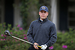 WILMINGTON, NC - MARCH 19: Kent State's Bjarki Petursson (ISL) tees off on the Ocean Course seventh hole. The first round of the 2017 Seahawk Intercollegiate Men's Golf Tournament was held on March 19, 2017, at the Country Club of Landover Nicklaus Course in Wilmington, NC.