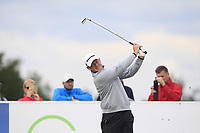 Jamie Donaldson (WAL) on the 3rd tee during Round 4 of the D+D Real Czech Masters at the Albatross Golf Resort, Prague, Czech Rep. 03/09/2017<br /> Picture: Golffile   Thos Caffrey<br /> <br /> <br /> All photo usage must carry mandatory copyright credit     (&copy; Golffile   Thos Caffrey)