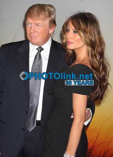 Donald & Melania Trump<br /> 2008<br /> Photo By John Barrett/PHOTOlink.net
