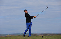Mitchel Sarling during Round Two of the West of England Championship 2016, at Royal North Devon Golf Club, Westward Ho!, Devon  23/04/2016. Picture: Golffile | David Lloyd<br /> <br /> All photos usage must carry mandatory copyright credit (&copy; Golffile | David Lloyd)