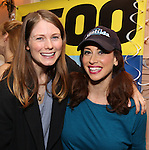 Allison Case and Lesli Margherita attend the cast celebration for their 1500 performance on Broadway at the Shubert Theater on November 16, 2016 in New York City.