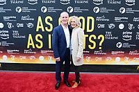 "Picture by Simon Wilkinson/SWpix.com - 30/04/2018 - Rugby League Leeds Rhinos Film "" As Good As It Gets ? "" Film Screening and Red Carpet Premiere, Everyman Cinema, Trinity, Leeds - Steve Auckland and Helen Oldham"