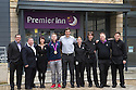 20/01/15<br /> <br /> ***FREE PHOTO FOR EDITORIAL USE***<br /> <br /> Olympic gold medal track cyclist, Philip Hindes MBE, at the opening of the Premier Inn in Harrogate, North Yorkshire.<br /> All Rights Reserved - F Stop Press.  www.fstoppress.com. Tel: +44 (0)1335 300098