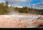 Fountain Paint Pot, Lower Geyser Basin, Yellowstone National Park, Wyoming