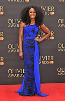 Beverley Knight at the Olivier Awards 2019, Royal Albert Hall, Kensington Gore, London, England, UK, on Sunday 07th April 2019.<br /> CAP/CAN<br /> ©CAN/Capital Pictures