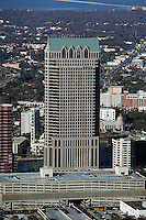 aerial photograph 100 North Tampa office tower Tampa Florida