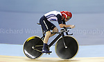 Paralympics London 2012 - ParalympicsGB - Cycling Track held at the Velodrome  31st August 2012.  .Men's Individual C4-5 1km Time Trial at the Paralympic Games in London. Photo: Richard Washbrooke/ParalympicsGB)