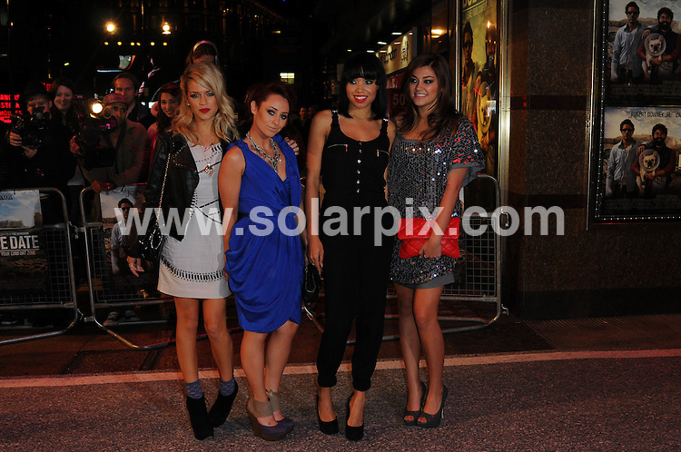 **ALL ROUND PICTURES FROM SOLARPIX.COM**                                             **WORLDWIDE SYNDICATION RIGHTS**                                                                                  Caption:  Due Date UK film premiere.Empire Leicester Square, London, England, 03 November 2010                                                                            This pic:  Belle Amie                                                                                      JOB REF: 12427        MSR       DATE: 03_11_2010                                                            **MUST CREDIT SOLARPIX.COM OR DOUBLE FEE WILL BE CHARGED**                                                                      **MUST AGREE FEE BEFORE ONLINE USAGE**                               **CALL US ON: +34 952 811 768 or LOW RATE FROM UK 0844 617 7637**
