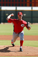 Brian Pearl - Cincinnati Reds 2009 Instructional League. .Photo by:  Bill Mitchell/Four Seam Images..