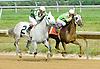 Langley winning at Delaware Park on 7/9/12