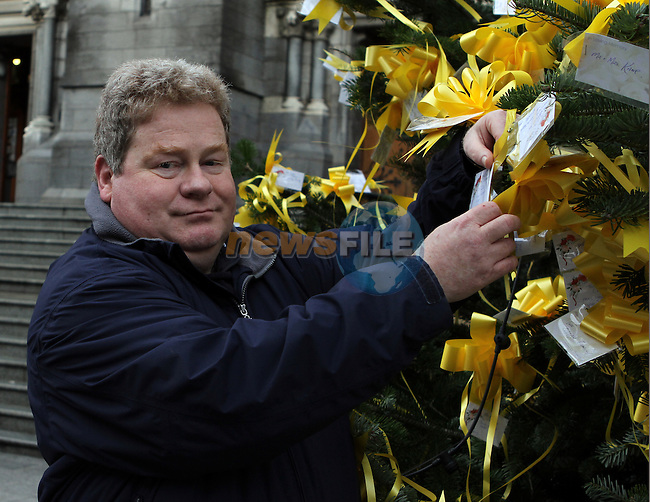 Incoming President Tom Eustace at the Launch of the Rotary Tree on West Street...(Photo credit should read Jenny Matthews www.newsfile.ie)....This Picture has been sent you under the conditions enclosed by:.Newsfile Ltd..The Studio,.Millmount Abbey,.Drogheda,.Co Meath..Ireland..Tel: +353(0)41-9871240.Fax: +353(0)41-9871260.GSM: +353(0)86-2500958.email: pictures@newsfile.ie.www.newsfile.ie.