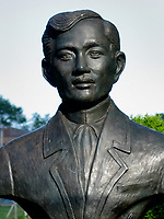 Montreal (Qc) CANADA, July 21, 2007<br /> <br /> Josee Rizal statue<br /> photo : (c) images Distribution