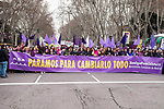Protest during the Women's International Day in Madrid , Spain. March 09, 2018. (ALTERPHOTOS/Borja B.Hojas)