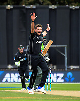 180106 One-Day International Cricket - NZ Black Caps v Pakistan