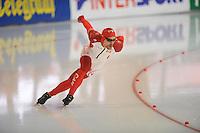 SCHAATSEN: ERFURT: Gunda Niemann Stirnemann Eishalle, 21-03-2015, ISU World Cup Final 2014/2015, Denny Morrison (CAN), ©foto Martin de Jong