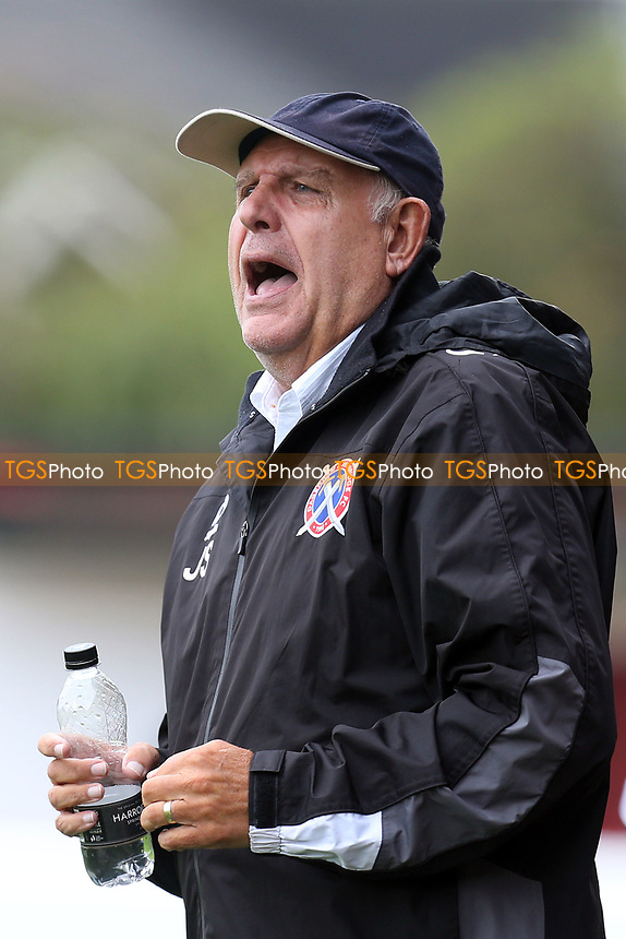 Dagenham manager John Still during Dagenham & Redbridge vs West Ham United, Friendly Match Football at the Chigwell Construction Stadium on 22nd July 2017