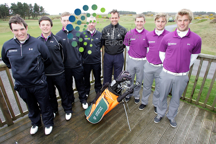 The University of Stirling Golf with Andrew Coltart at the Gailes Golf Course Irvine.