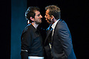 Edinburgh, UK. 30.08.2012. Scottish Opera and Music Theatre Wales present GHOST PATROL. Written by Louise Welsh and scored by Stuart MacRae. Picture shows: Nicholas Sharratt (as Sam) and James McOran-Campbell (as Alasdair). Photo credit: Jane Hobson.
