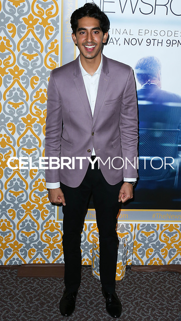 LOS ANGELES, CA, USA - NOVEMBER 04: Dev Patel arrives at the Los Angeles Season 3 Premiere Of HBO's Series 'The Newsroom' held at the DGA Theatre on November 4, 2014 in Los Angeles, California, United States. (Photo by Xavier Collin/Celebrity Monitor)