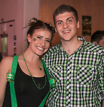 Rachel and Jameson on St. Patrick's Day in Sparks on Friday, March 17, 2017.