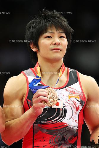 Koji Yamamuro (JPN), October 15, 2011 - Artistic Gymnastics : 2011 Artistic Gymnastics World Championships, Men's Rings Final at Tokyo Metropolitan Gymnasium, Tokyo, Japan. (Photo by Daiju Kitamura/AFLO SPORT) [1045]