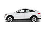 Car Driver side profile view of a 2017 BMW X4 xDrive28i 5 Door SUV Side View